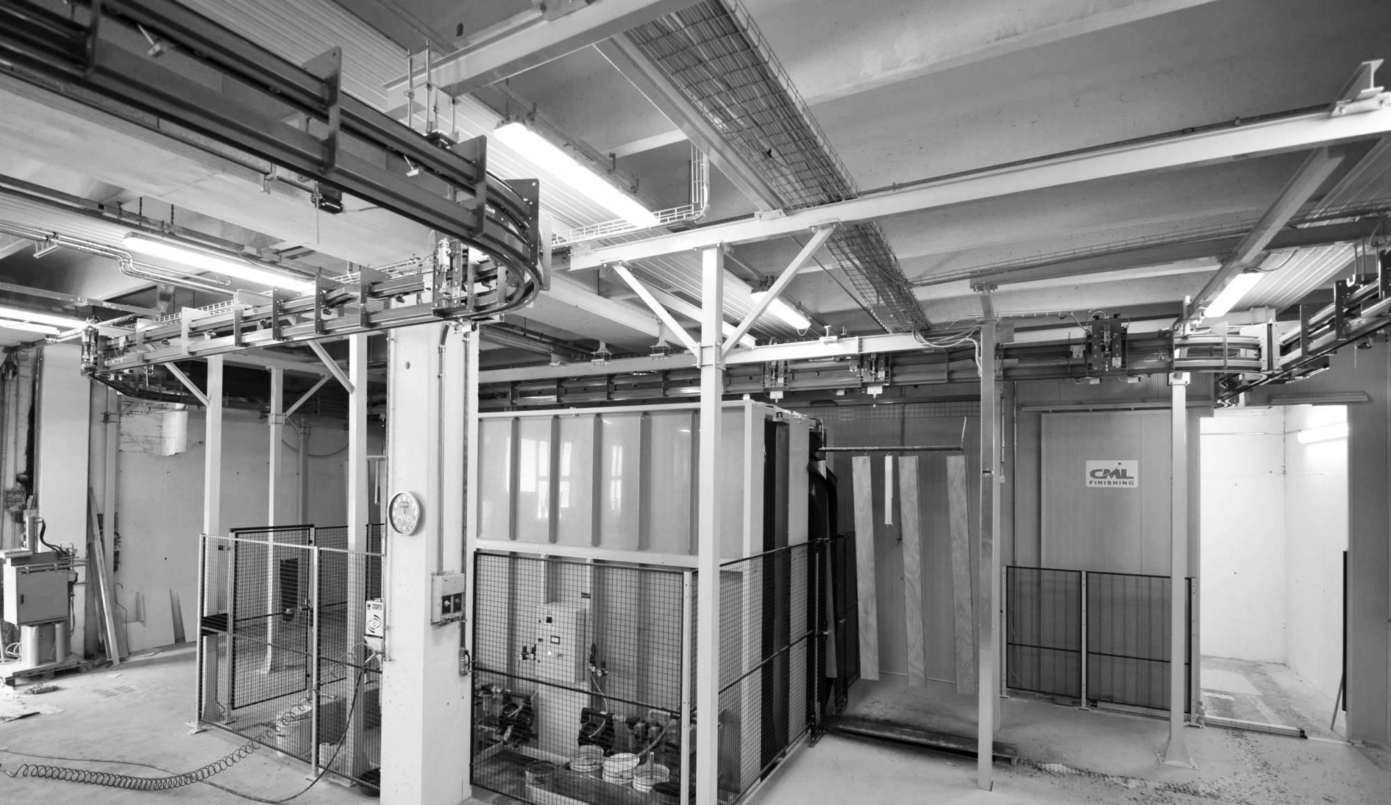 Impianti automatici di verniciatura